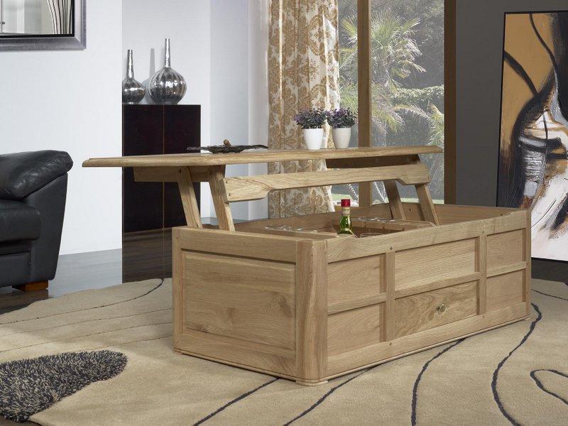 Table Bar Jules Realisee En Chene De Style Louis Philippe Finition