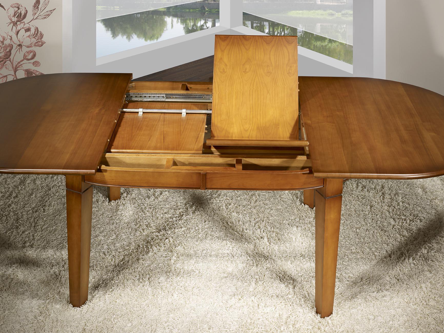 Table Ovale 180x110 Realisee En Merisier De Style Campagne 4