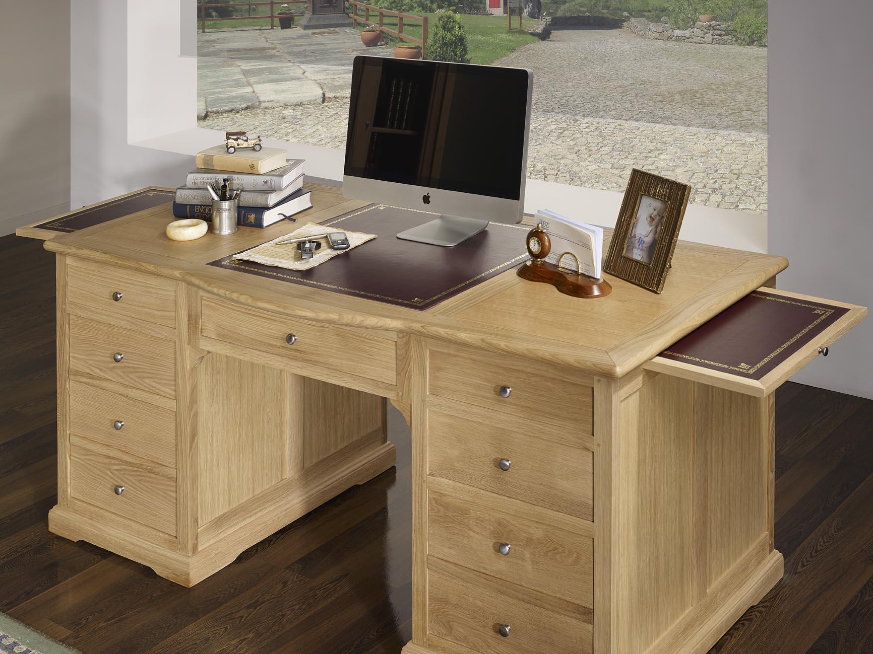 Prodigieux bureau design bois bureau bois blanc design suspendu