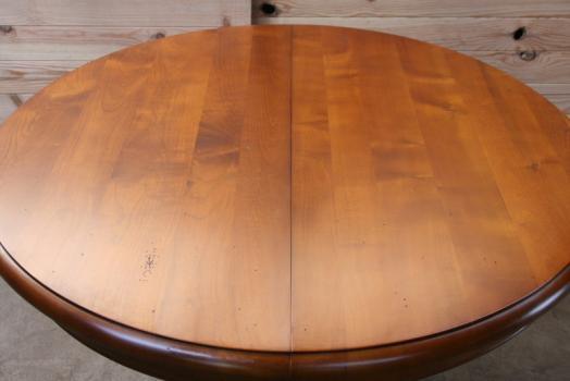 Table Ronde Marie Amelie Diametre 105 Pieds Central De Style Louis