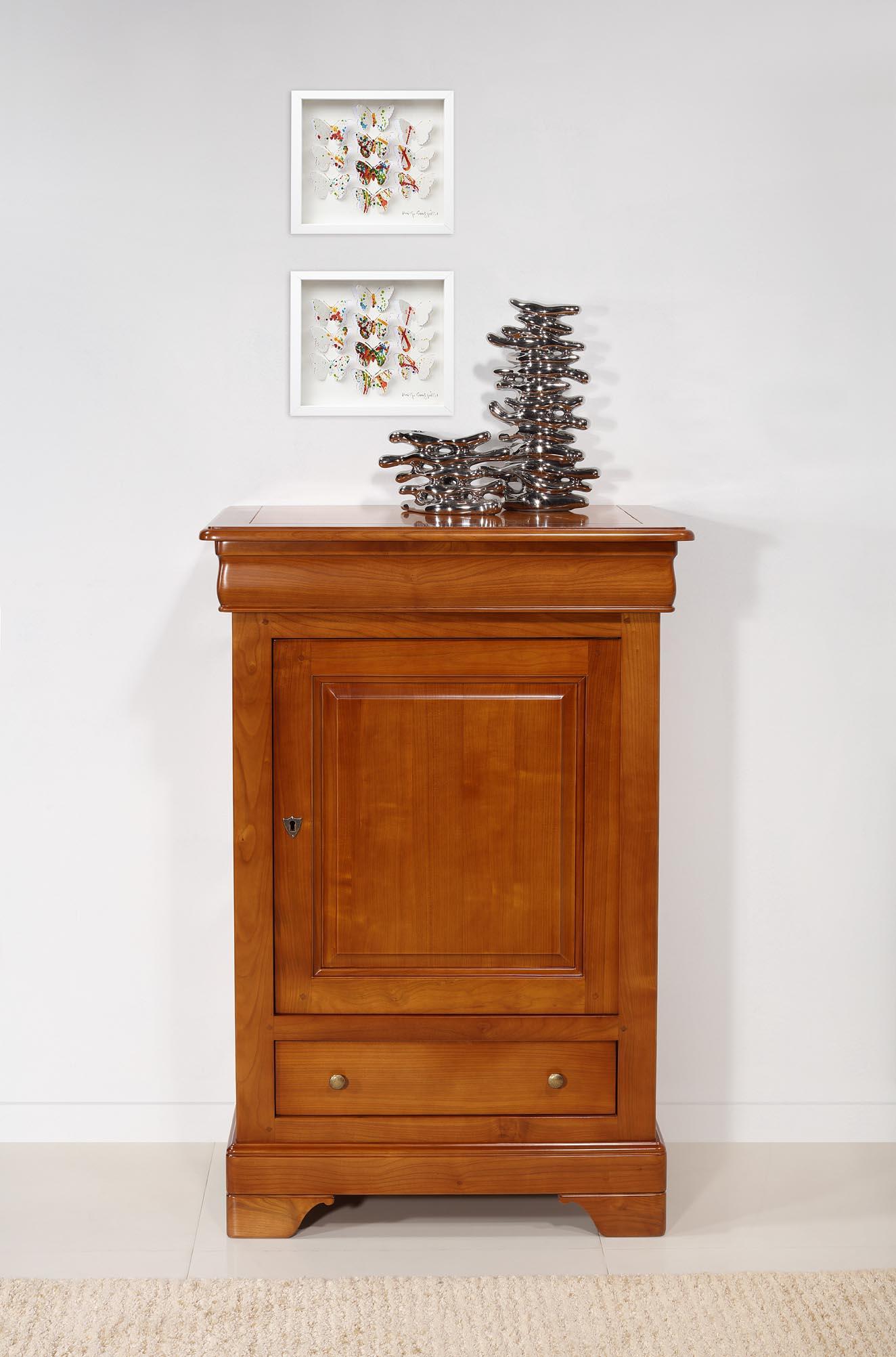 Fromager  en Merisier Massif de style Louis Philippe Hauteur 110 cm SEULEMENT 1 DISPONIBLE