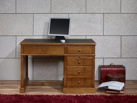 Petit bureau lucie réalisé en merisier de style louis philippe