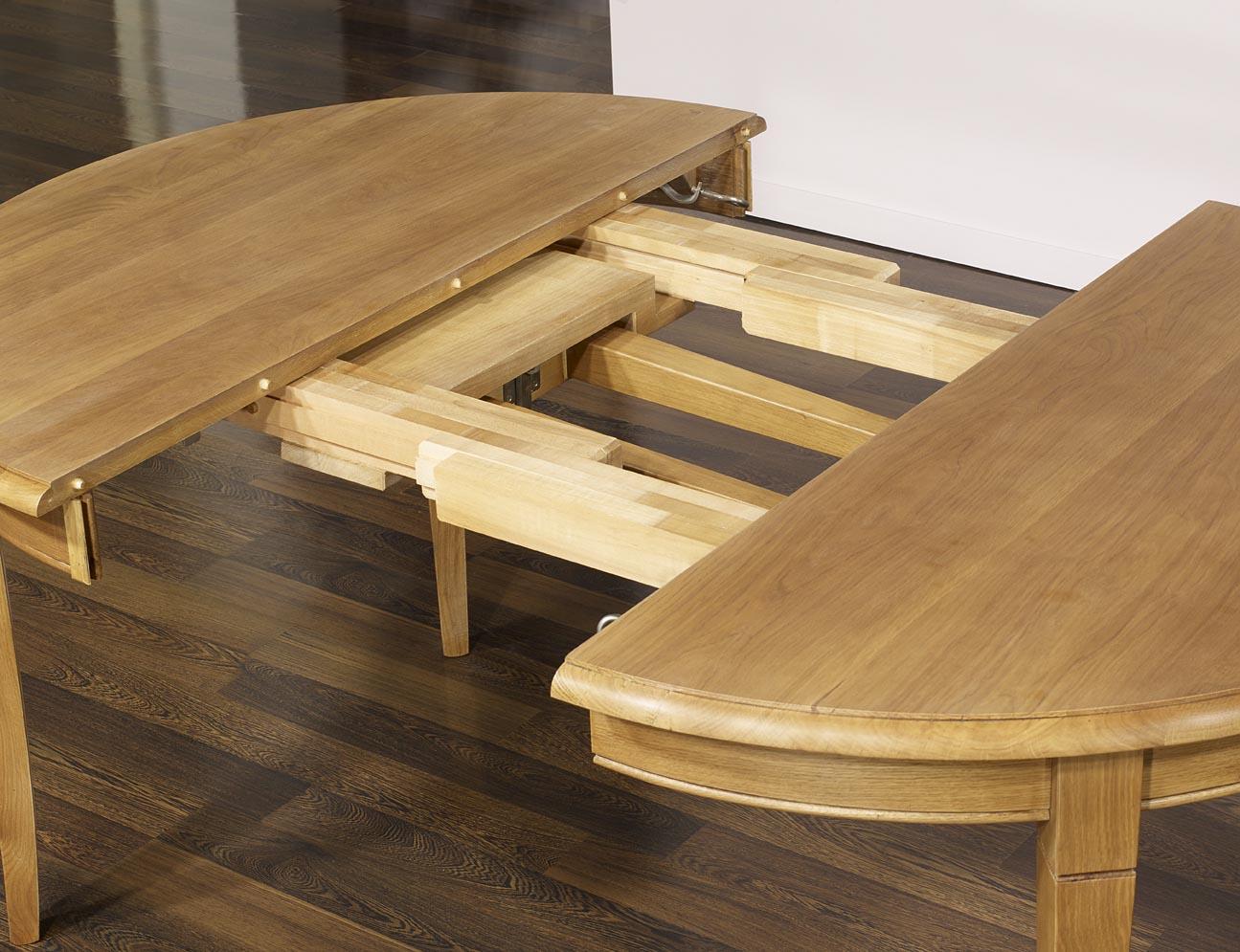 Table Ronde Fabien Realisee En Chene Massif De Style Louis