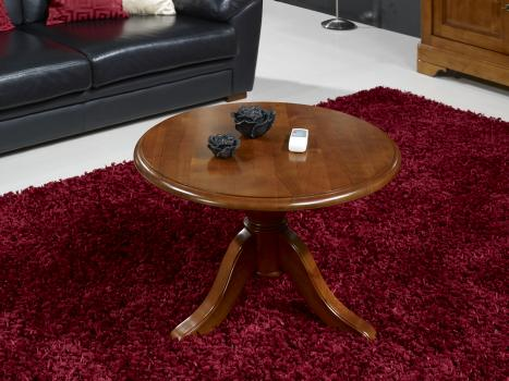 Petite Table Basse Ronde Ancienne