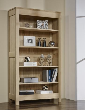 Bibliotheque Collection Nature Realisee En Chene Massif 4 Etageres