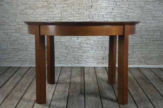 Table ronde Emy  en chene de ligne contemporaine  plateau céramique