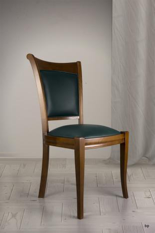 Chaise Pauline en Merisier Massif de style Louis Philippe