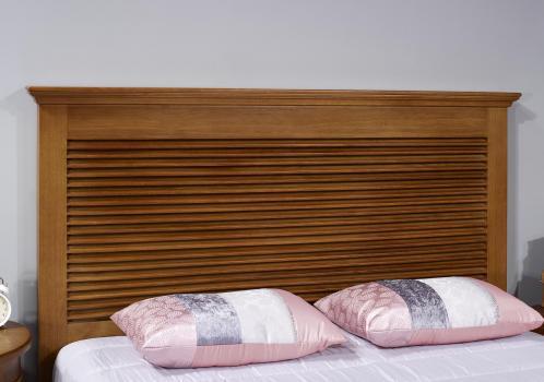 Tête de lit  en chêne massif de style Campagne