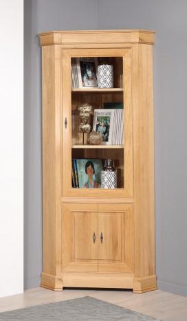 Encoignure 2 portes  en chêne de style Directoire  SEULEMENT 1 DISPONIBLE